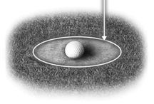 golf terms - away from the green