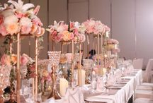 Table Setting Decoration / simple and elegant table setting design and idea for birthday or wedding events