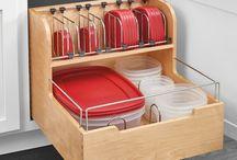Kitchen storage draw ideas