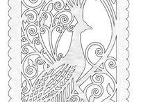 Fretwork pattern