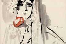 Kees van Dongen / (1877 – 1968) Dutch-French painter and one of the Fauves at the controversial 1905 Salon d'Automne exhibition. He gained a reputation for his sensuous, at times garish, portraits.