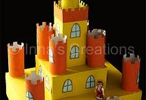 hrad, město