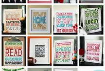 Printable n fonts / by Melissa Fondren
