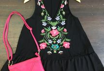 Embroidery / Check out our hottest selling embroidered tops and dresses!