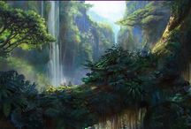 forest anim scene
