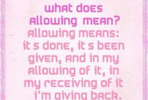 allowing