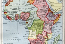 Old Colonial Maps. / Mostly Africa and south Asia.
