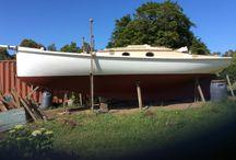 Waitangi of Balmain / Pleasure yacht. Built 1922. Launched after restoration 2015