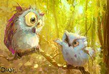 •Owls•