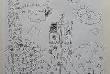 My school doodle art, Bali 2015-2016