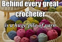 crochet, knitting & sewing humor