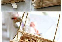 créations bâtonnets de glace