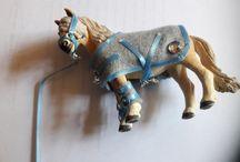 Pferde, Schleich und Zubehör