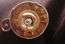 Broches / Mis broches hechos con capsulas nespresso