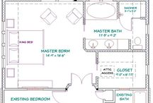 Planning - bedroom, closets and bathroom combination