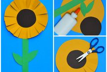 FLOAREA SOARELUI - sunflower craft
