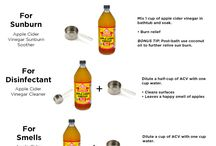 Best uses for using apple Cider Vinegar eg. cleaning hints