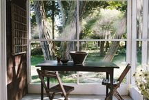 Patio / Screened in Porch Inspiration / by Melanie Glover