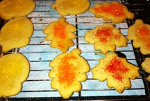 Favorite Recipes / Maple Leaf Cookies - by: Martha Stewart / by Shelly Clark