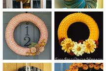 wreaths / by SassySites AndCrafts