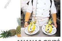 Recettes de cuisine / Découvrez des recettes réalisables en Nouvelle-Calédonie, de chefs ou de néofites, avec des produits locaux !