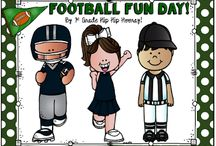 Football Fun Day! / Create and educational and fun filled day for your class.