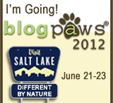 BlogPaws / For updates and photos of Blog Paws appearance in Salt Lake City UT, and also to showcase all the cool friends I meet! I'm here with Natural Balance Pet Foods!