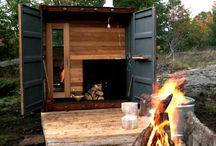 Portable GetAway & sauna box