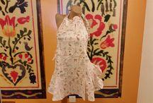 Textil para la cocina / Artículos textiles para dar un toque de estilo diferente a nuestra cocina y hogar: delantales para adultos y niños, paneras, guantes de cocina, bandejas...
