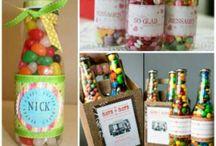 botellas dulces regalo