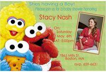 Sesame street baby shower / by Perla Flores