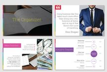 Business Presentation Templates / Deliver business presentation with a modern look that could impress a whole board of directors