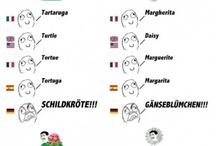 Nyelvi és országbeli különbségek :D / Benne van a címben. :)