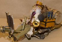 Steampunk Mood Board / Brought to you by DollsHouse and Miniature Scene magazine http://www.dollshouseandminiaturescene.co.uk