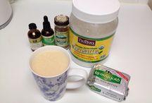 Bullet Proof Coffee, Teas, Kombucha, Smoothie and Adult Beverage Recipes