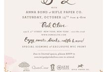 Invitations, Misc