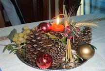 Centro de Mesa Navideño para buenos deseos / Prepara tu centro de mesa ritual el proximo 21 de Diciembre, es tu ultima oportunidad en este año. Decidete!! Solo te llevara menos de una hora y te divertiras explorando tu creatividad.