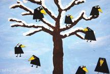 Linnut puussa