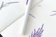 ✧ Doodles | Scribbles | Sketchnotes / Hier findest du Doodles und kleine Zeichnungen um Lücken in deinem Bullet Journal zu füllen und es damit aufzuwerten.