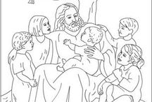 Coloring sheets Bible