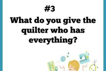 Quilters Questions - What's Your Favorite Question? / Enjoy these delightful, humorous and thought-provoking quilters! From the book by Kyra E. Hicks.