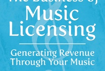 Music licensing and copyright and business / various articles related to music copyright and licensing. / by Terry Jones