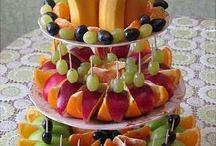 desserts fruits