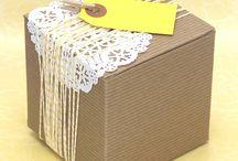 balení dárečků