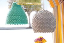 ♡ lamp haken / crochet lampshade