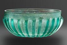 ókori üvegek