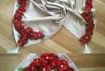 masa örtüsü kumaş çiçek deri çalışma
