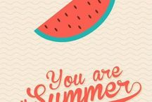 L'ÉTÉ / Inspirations pour l'été