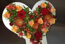 Flower+ hart boeket