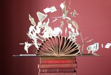 Book sculpture / Book Sculpture, literary, books, book decorations, library wedding, library venue, library decorations, literary wedding, literary inspired, library, book centrepices, literary wedding, book themed wedding, book table centre,